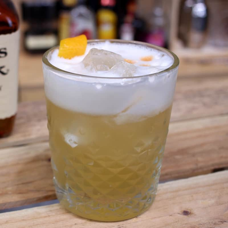 Amaretto Sour Cocktail Reci