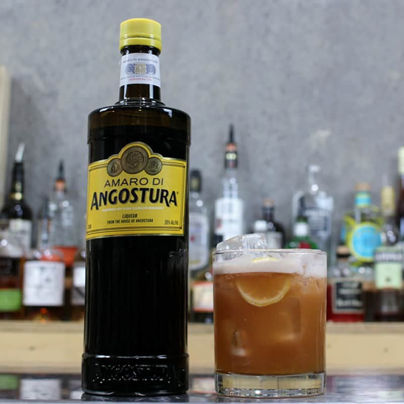 Amaro Sour Cocktail