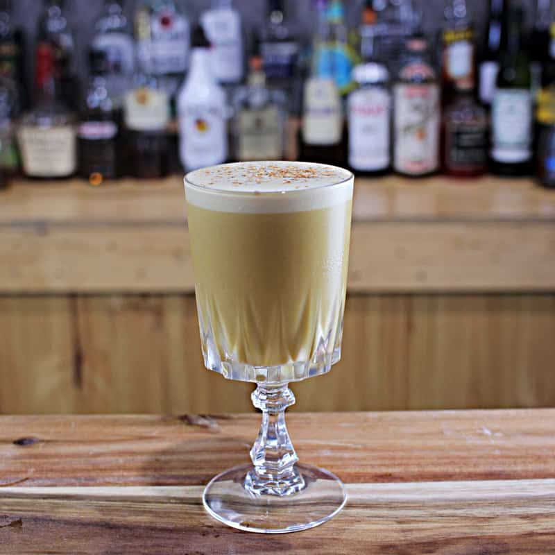 Fernet Flip Cocktail