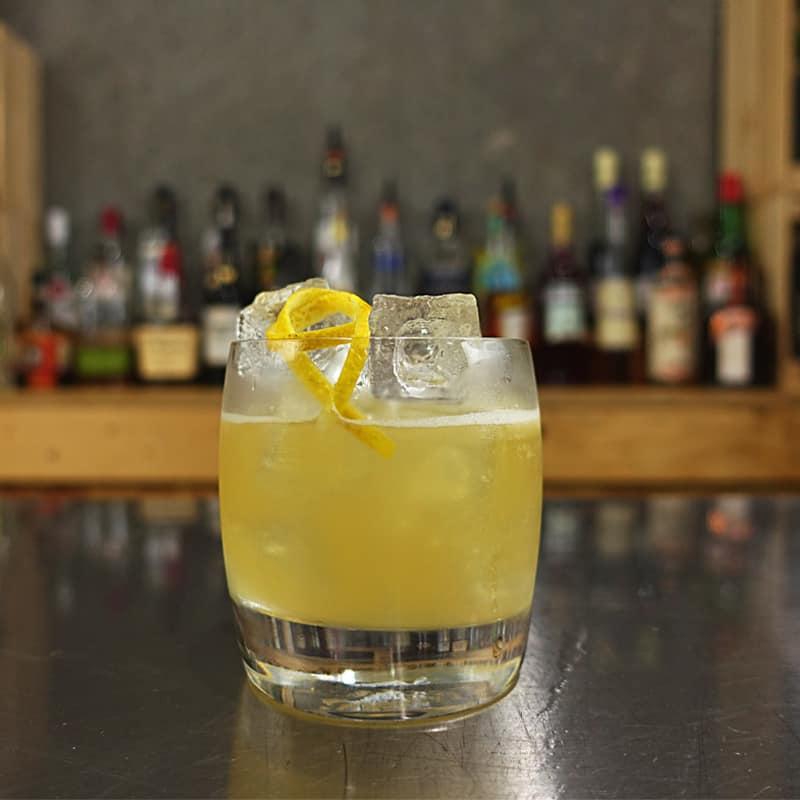 Brandy Fix Cocktail