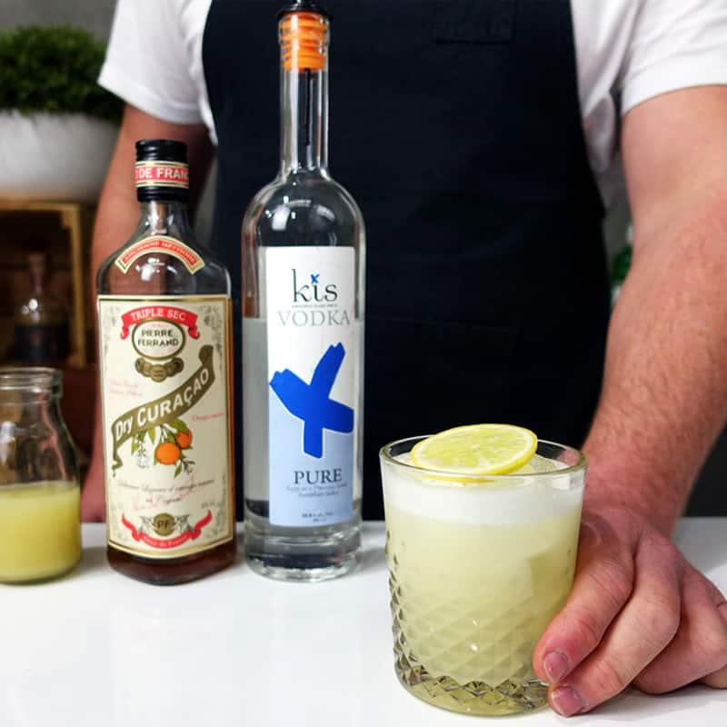 Dutch Sour Cocktail