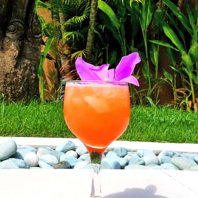 Papaya Gin Sling