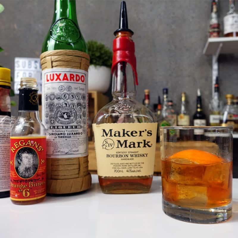 Maraschino Old Fashioned
