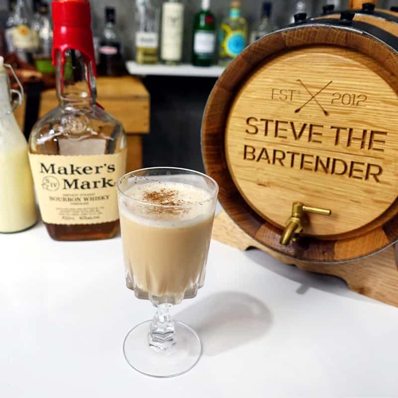 New York Flip Cocktail