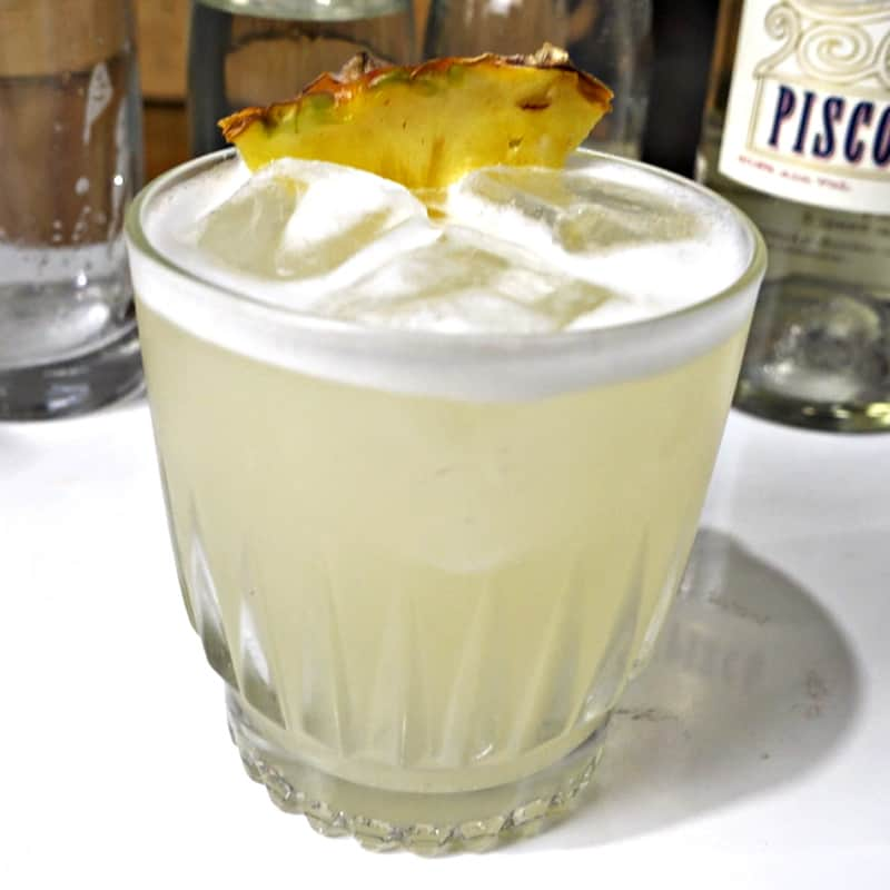 Pisco Punch Cocktail