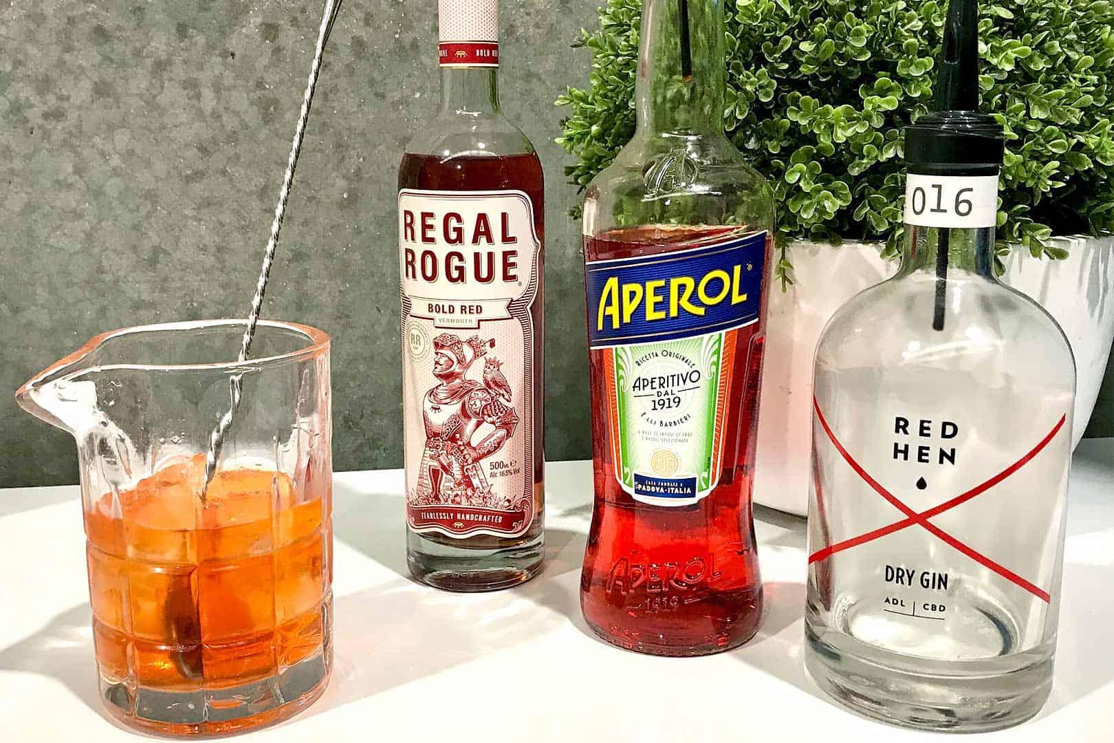 Rogue Negroni Cocktail Recipe
