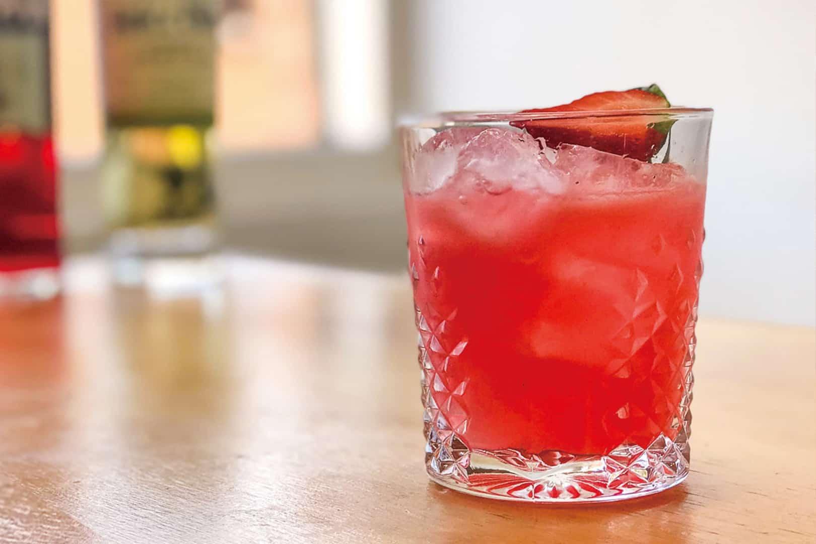 Strawberry Fields Cocktail Recipe